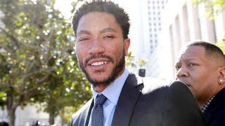 Derrick Rose Found NOT GUILTY in Civil Rape Case where him and Friends ran Train on Girl.