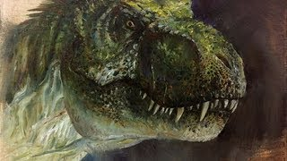 How to Paint T-rex Head