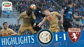 Inter - Torino 1 - 1 - Highlights - Giornata 12 - Serie A TIM 2017/18