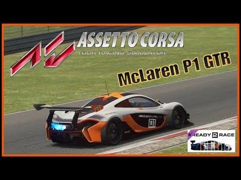 Assetto Corsa READY TO RACE DLC | McLaren P1 GTR | Update 1.15 | PS4 PRO