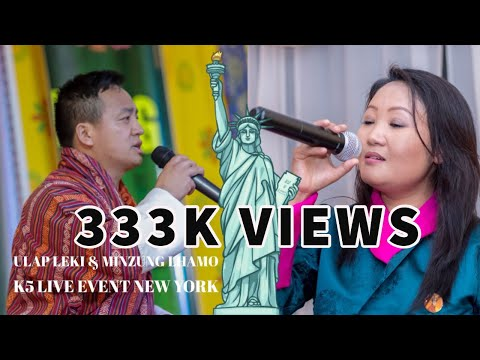Xxx Mp4 Ulap Leki Amp Minzung Lhamo Bhutanese K5 Live Event New York 2018 HD 3gp Sex