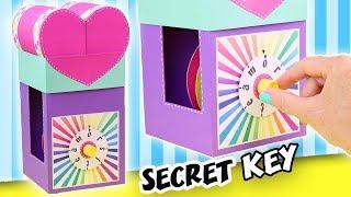 MAKE A GIFT WITH SECRET KEY - THE COMBINATION LOCK | aPasos Crafts DIY