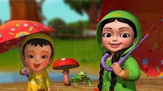 Tip Tip Baarish Aayee | Hindi Rhymes for Children | Infobells