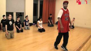 NYU Breakdance | Rich Nyce's Toprock Workshop | B-Boy Network Channel