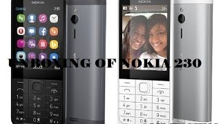 [Hindi - हिन्दी] Unboxing Of Microsoft/ Nokia 230 Dark Silver BY MANIK SINGHAL #MSTECHNO