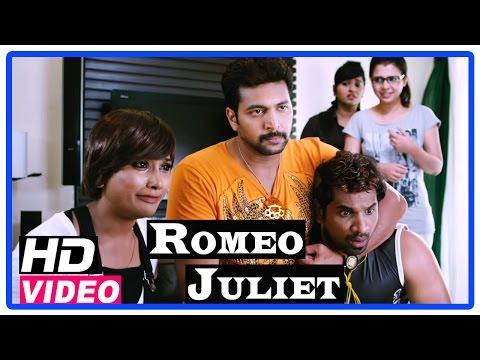 Romeo Juliet Tamil Movie | Scenes | Hansika searching girl for Jayam Ravi