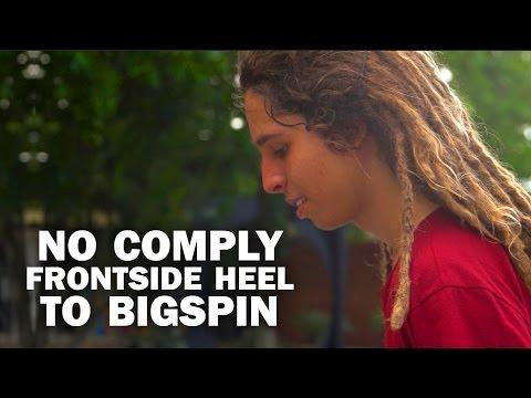 No Comply FS Heel to Bigspin: Sergio Santoro || ShortSided