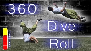 How To 360 DIVE ROLL - Free Running Tutorial