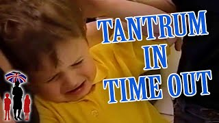 Supernanny | Boy Throws Tantrum In Time Out