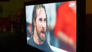 Live Reaction Seth Rollins Returns at Extreme Rules 2016!