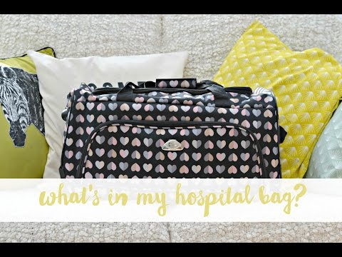 WHAT'S IN MY HOSPITAL BAG 2016 - LABOUR & DELIVERY | Charlotte Taylor