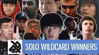 GBBB 2018  | SOLO Wildcard Winners