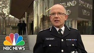 Police: 4 Dead, 20 Injured In Terror Attack Near UK Parliament, Investigation Underway | NBC News