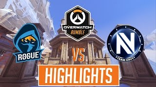 Overwatch Highlights | The Best in The West [ Rogue vs EnVyUs ] - Overwatch Rumble $10,000 Finals