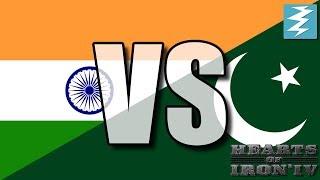 Pakistan Vs India Ep3 - Hearts of Iron 4 (HOI4)