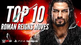 Roman Reigns Top 10 Moves   EspacioNinja.com Top 10 Moves series