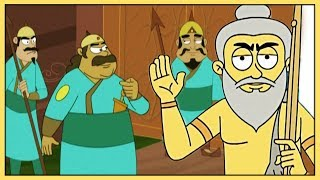 Akbar And Birbal || Fifty Fifty || Hindi Animated Story Vol 1
