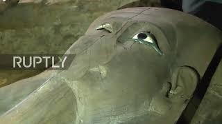Egypt: Late-pharaonic tomb discovered at Tuna Al-Gabal near Cairo