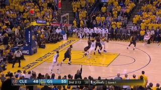 Warriors defense vs  Kyrie & LeBron in Game 1