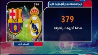 نشرة الأخبار| اليوم لقاء الكلاسيكو برشلونة وريال مدريد ضمن الدوري الإسبانى
