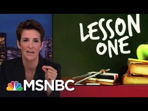Donald Trump White House A Poor Source For Facts Rachel Maddow MSNBC