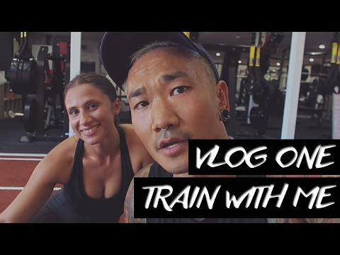 TRAIN WITH ME | WORKOUT VLOG ONE
