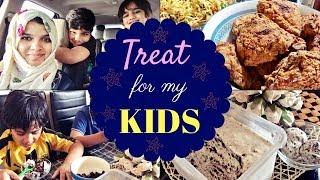 Kids' Day Vlog/Idiyappam Green moong dal curry/prawns biriyani/oreo ice cream/fried chicken/Noodles