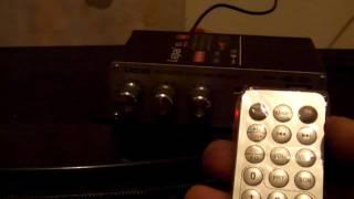 Усилитель+ FM+ USB