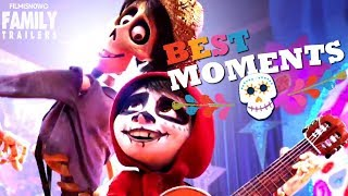 COCO | ALL the BEST Moments from the Disney Pixar Family Movie