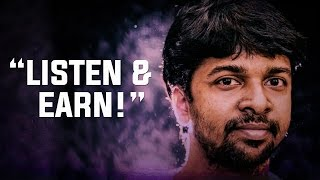 "Madhan Karky - ""Listen to a song & earn!"""