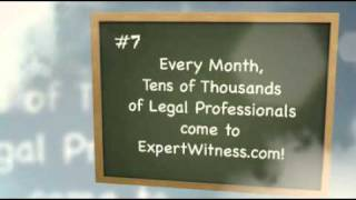 8 reasons to list your expert witness CV/resume on ExpertWitness.com