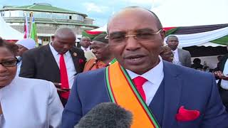 Nyandarua governor Francis Kimemia sworn into office