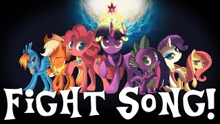 """Fight Song"" (Sung in MLP Voices) PMV"