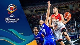 Egypt v Puerto Rico - Live - FIBA U19 Basketball World Cup 2017