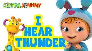 I Hear Thunder Rhyme | Rhymes for Children | Infobells