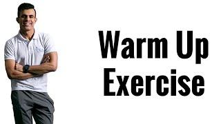 تمارين الاحماء warm up exercise  مع الكابتن / الوليد الكعيد