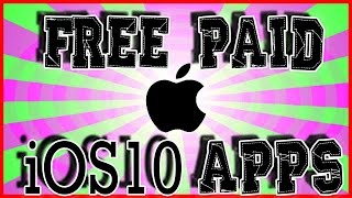 Get Paid Apps Free, in-apps Free, ++ Apps iOS 10 - 10.2 [Not TuTu] No Jailbreak No Computer Needed