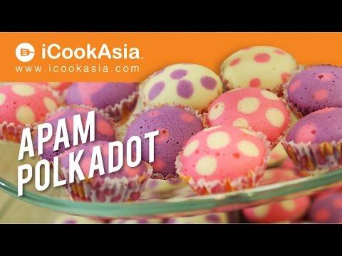 Apam Polkadot | Try Masak | iCookAsia