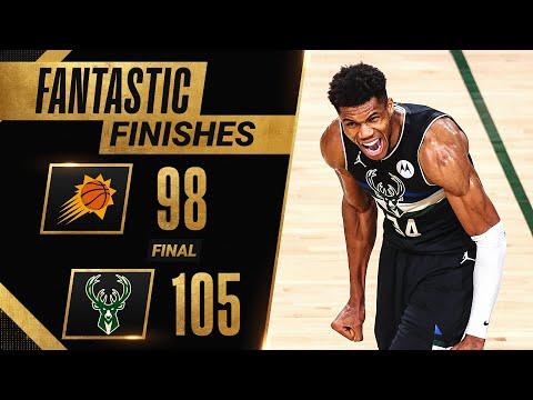 FINAL 6 40 of HISTORIC Ending To Game 6 Bucks vs. Suns 🔥🔥