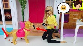 Barbie  Rutina de La Mañana Expectativa vs Realidad en Mansion de Barbie Baño, Dormitorio