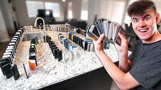 The BIGGEST iPhone Dominos Challenge ($100,000)