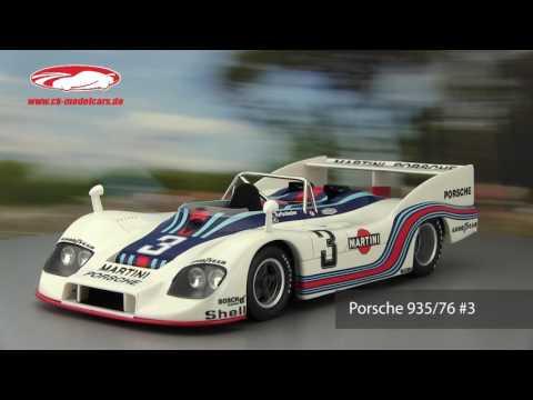 ck-modelcars-video: J. Ickx Porsche 935/76 #3 Winner 1000km Monza 1976 Martini Racing TSM Model