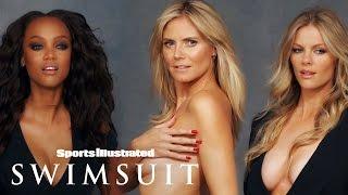 Brooklyn Decker, Heidi Klum, Tyra Banks & More In One Shoot | Legends | Sports Illustrated Swimsuit