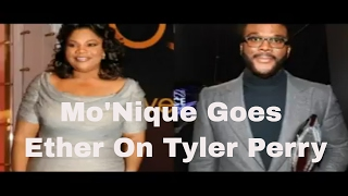 Mo'Nique Heated Phone Conversation With Tyler Perry