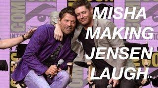 Compilation of Misha making Jensen laugh