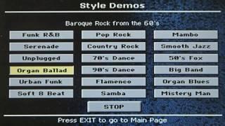 【KORG Pa900】Style Demos