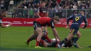 2017 Super Rugby Round 15: Crusaders v Highlanders
