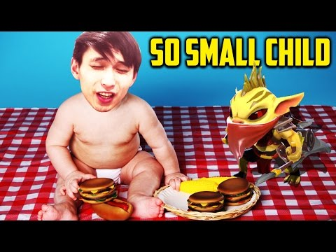 watch SMALL CHILD SO SMALL ◄ SingSing Moments Dota 2 Stream
