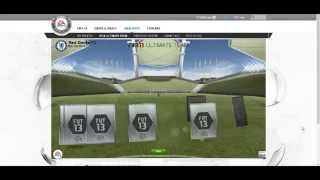 FIFA 13 - Ultimate team - BENZEMA in Mega Pack Opening episode 2 HD