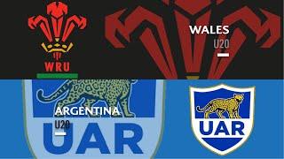 U20s Highlights: Wales beat Argentina
